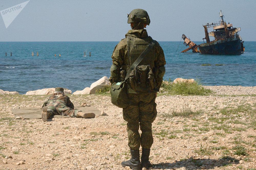 Wspólne manewry wojenne Rosji i Syrii
