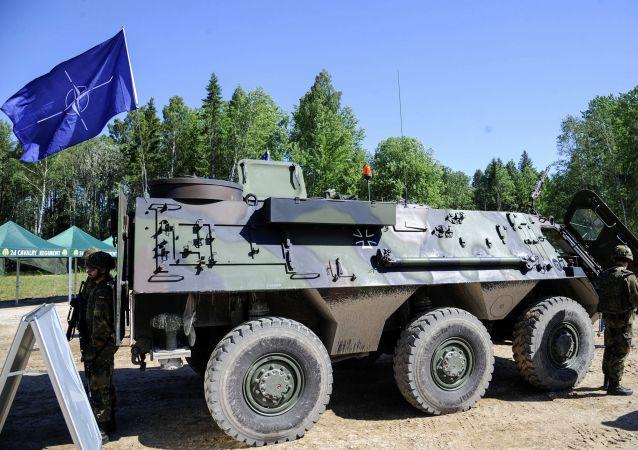 Ćwiczenia wojskowe Saber Strike в Эстонии