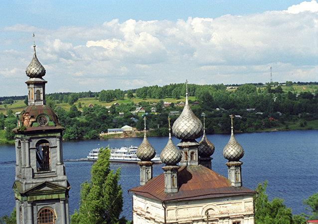 Cerkiew Zmartwychwstania Pańskiego nad Wołgą.