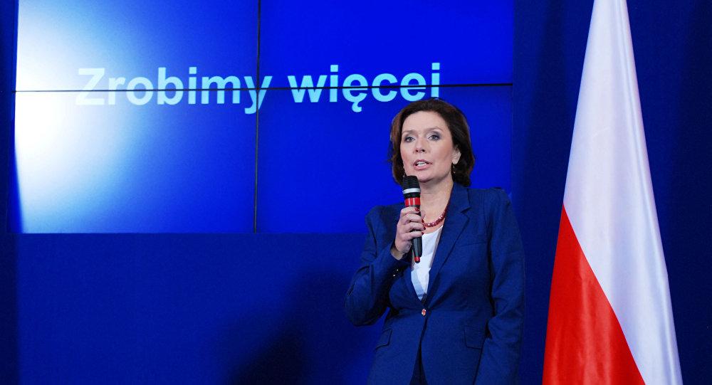Rzeczniczka Rządu RP Małgorzata Kidawa-Błońska