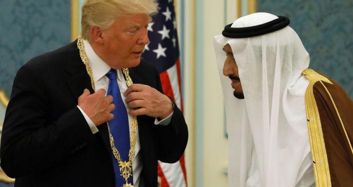 Wizyta Donalda Trumpa w Arabii Saudyjskiej