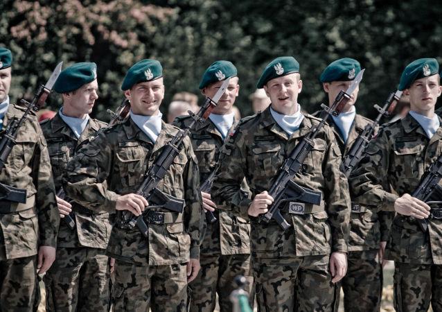 Żołnierze polskiej armii