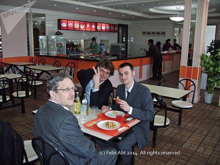 Felix Abt w Korei Północnej