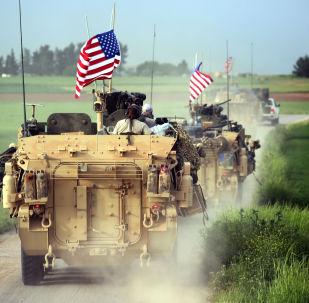Amerykańskie wojska na granicy Turcji i Syrii