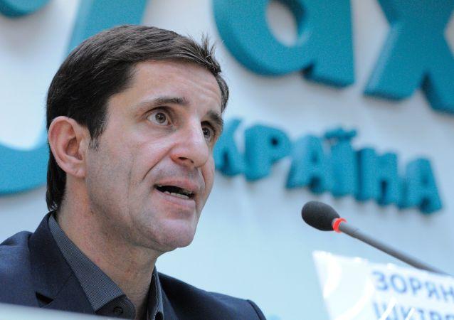 Doradca ministra spraw wewnętrznych Ukrainy Zorian Szkiriak