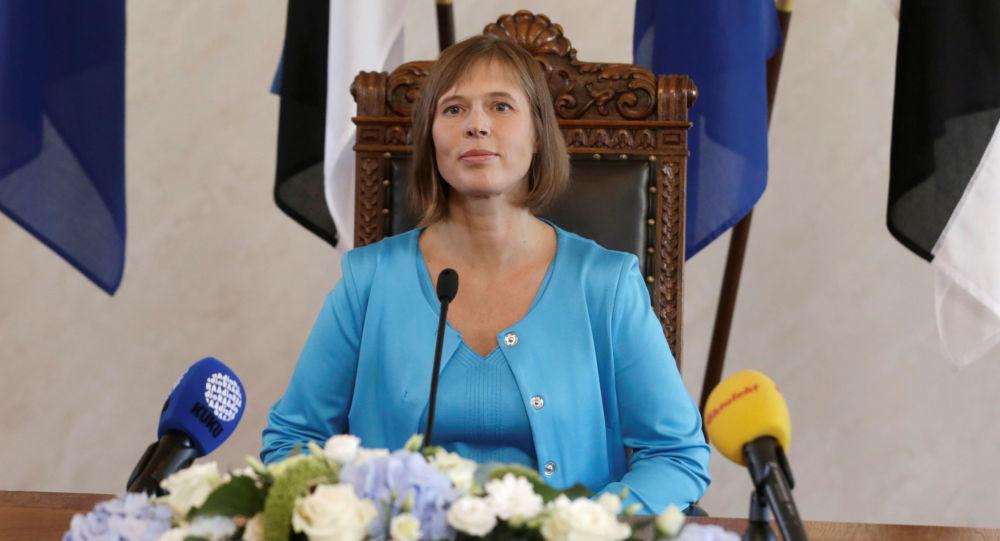 Prezydent Estonii Kersti Kaljulaid