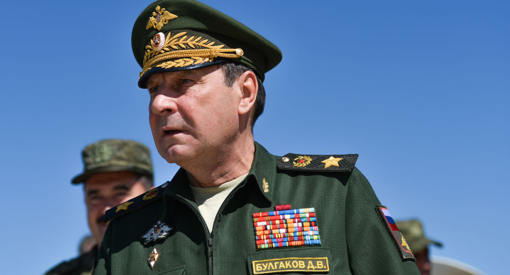 Wiceminister obrony Federacji Rosyjskiej Dmitrij Bułhakow