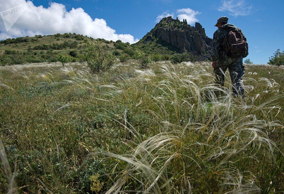 Krymska bajka: rezerwat przyrody Karadag