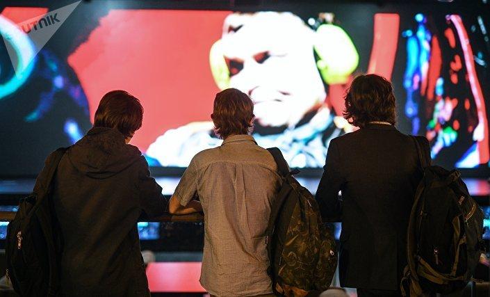 Otwarcie areny cybersportowej Yota Arena w Moskwie