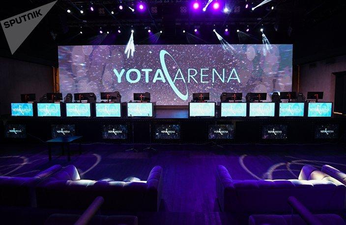 Oficjalne otwarcie areny cybersportowej Yota Arena w Moskwie