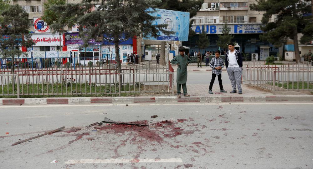 Wybuch w pobliżu ambasady USA w Kabulu