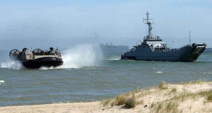 Wojskowo-morskie ćwiczenia Sojuszu Północnoatlantyckiego Baltops na Morzu Bałtyckim