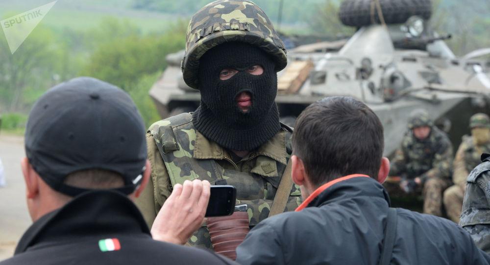 Ukraińscy wojskowi rozpoczęli natarcie na miasto Słowiańsk