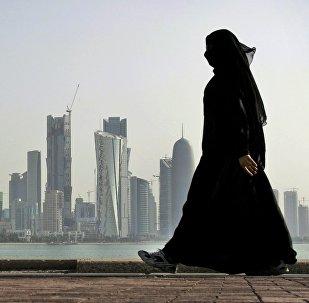 Kobieta w Katarze