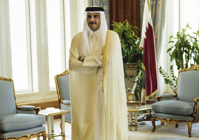 Emir Kataru szejk Tamim ibn Hamad Al Sani