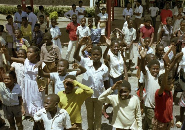 Mieszkańcy Mozambiku