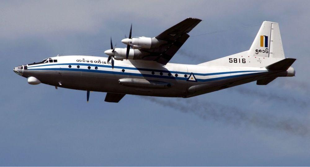 Myanmar Air Force Shaanxi Y-8