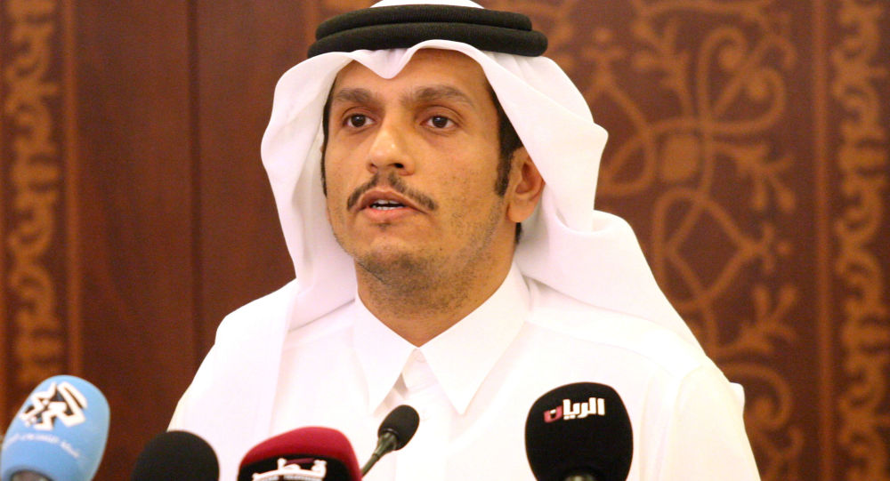 Minister spraw zagranicznych Kataru Mohammed bin Abdulrahman al-Thani