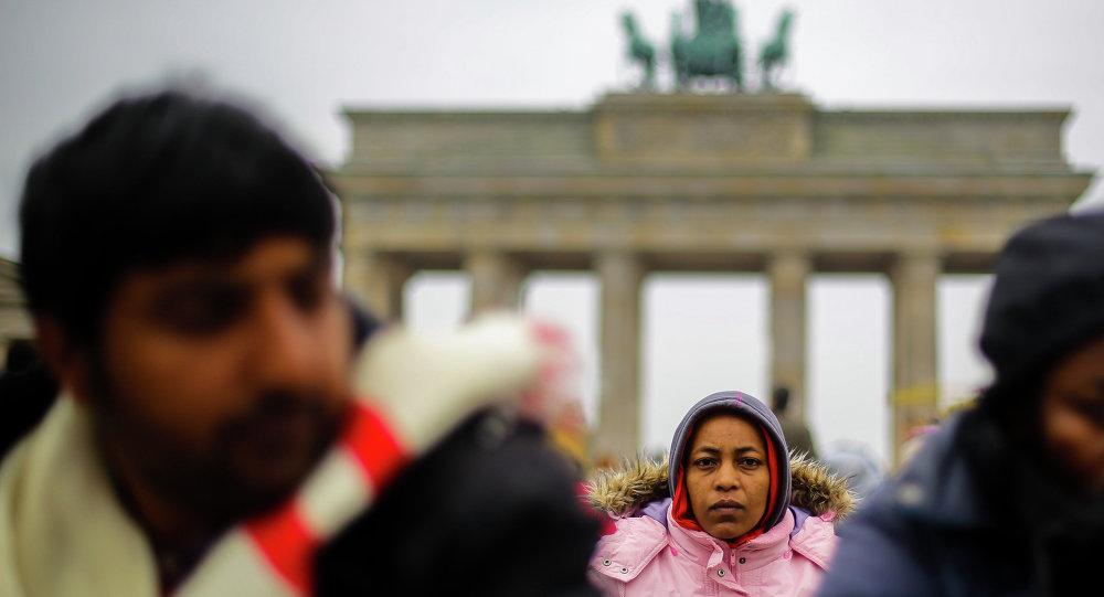 Uchodźcy w Berlinie