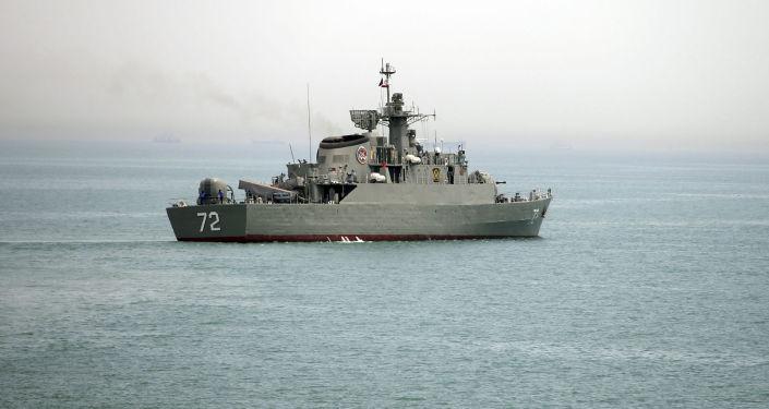 Irański okręt wojenny Alborz