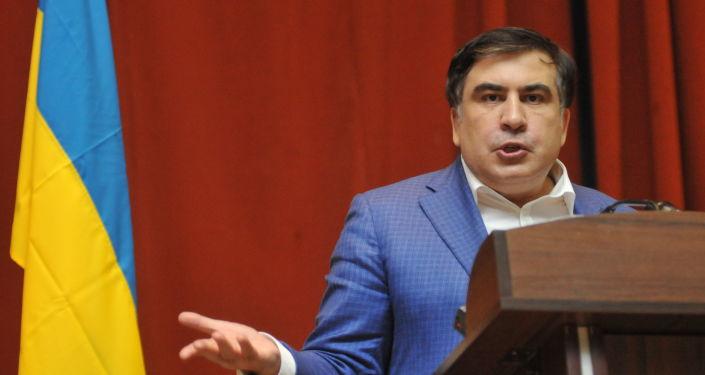 Wystąpienie Michaiła Saakaszwilego we Lwowie