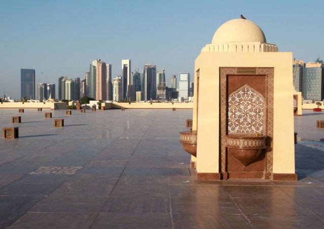 Widok na stolicę Kataru Dohę
