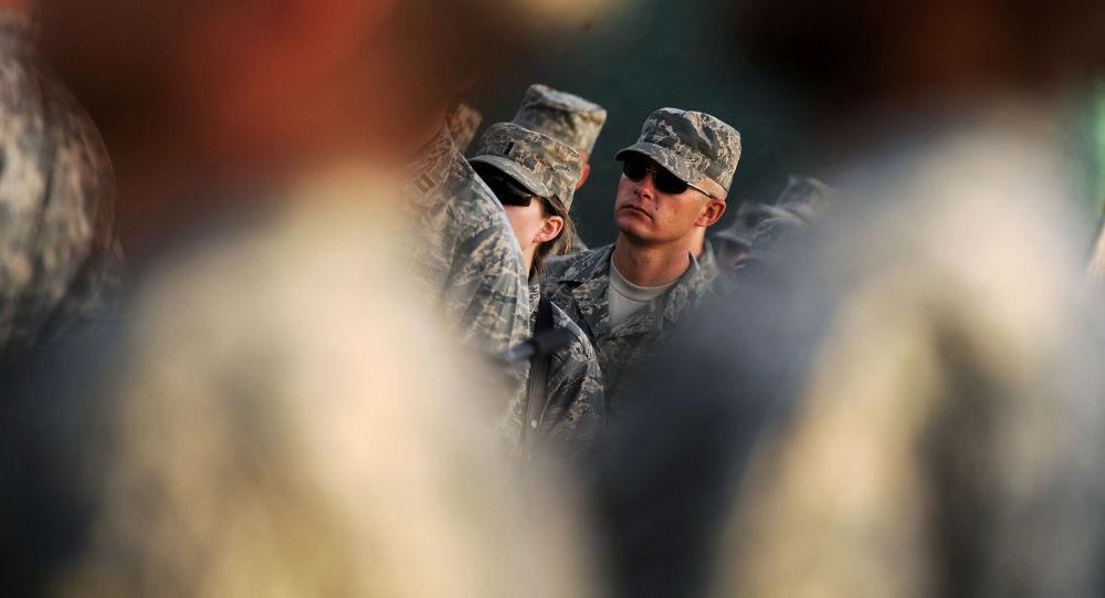 Amerykańscy wojskowi w Afganistanie