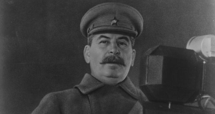 Przywódca Związku Radzieckiego Józef Stalin