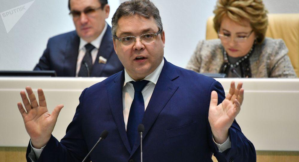 Gubernatora Kraju Stawropolskiego Władimir Władimirow