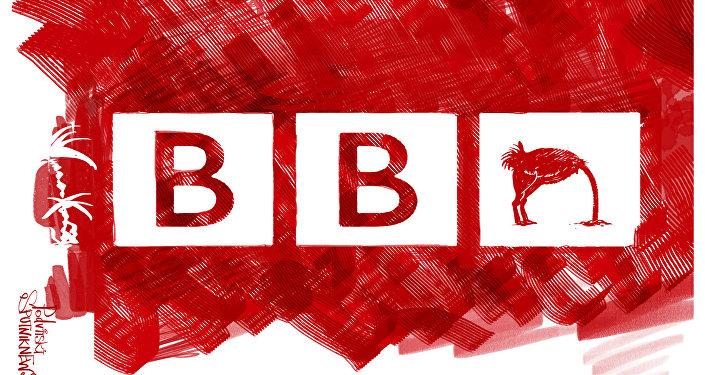 BBC skróciło wywiad Janukowicza, jednocześnie podając informację o strusiach w jego rezydencji.