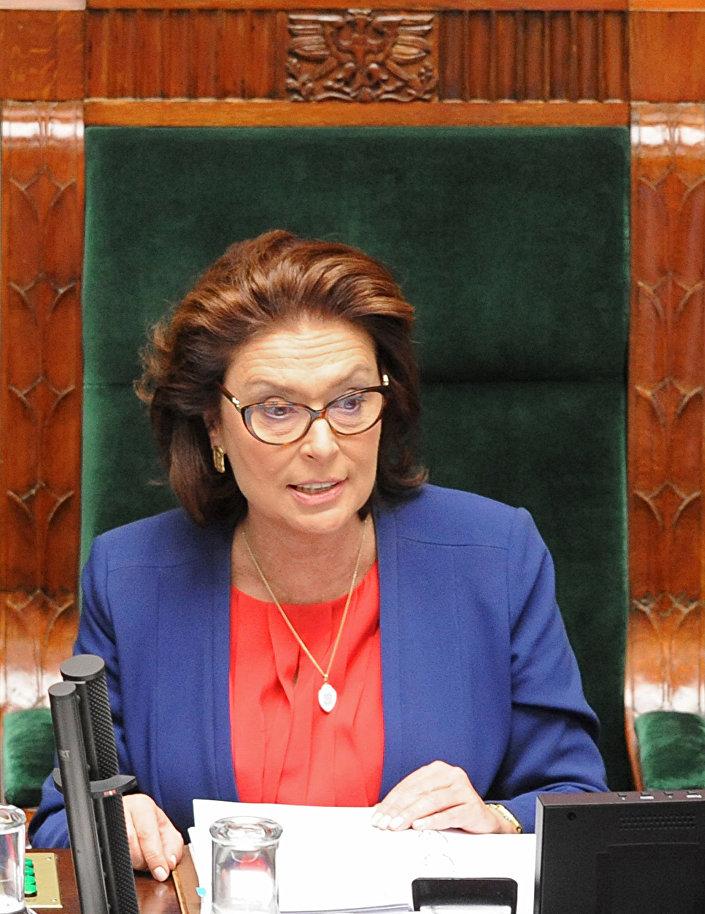 Nowa Marszałek Sejmu RP Małgorzata Kidawa-Błońska