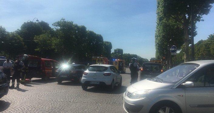 Policja prowadzi operację specjalną w centrum Paryża