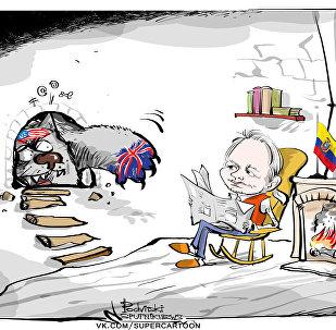 Minęło 5 lat, od kiedy Julian Assange schronił się w ambasadzie Ekwadoru w Londynie