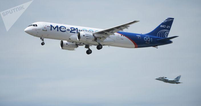 Rosyjski samolot pasażerski MS-21