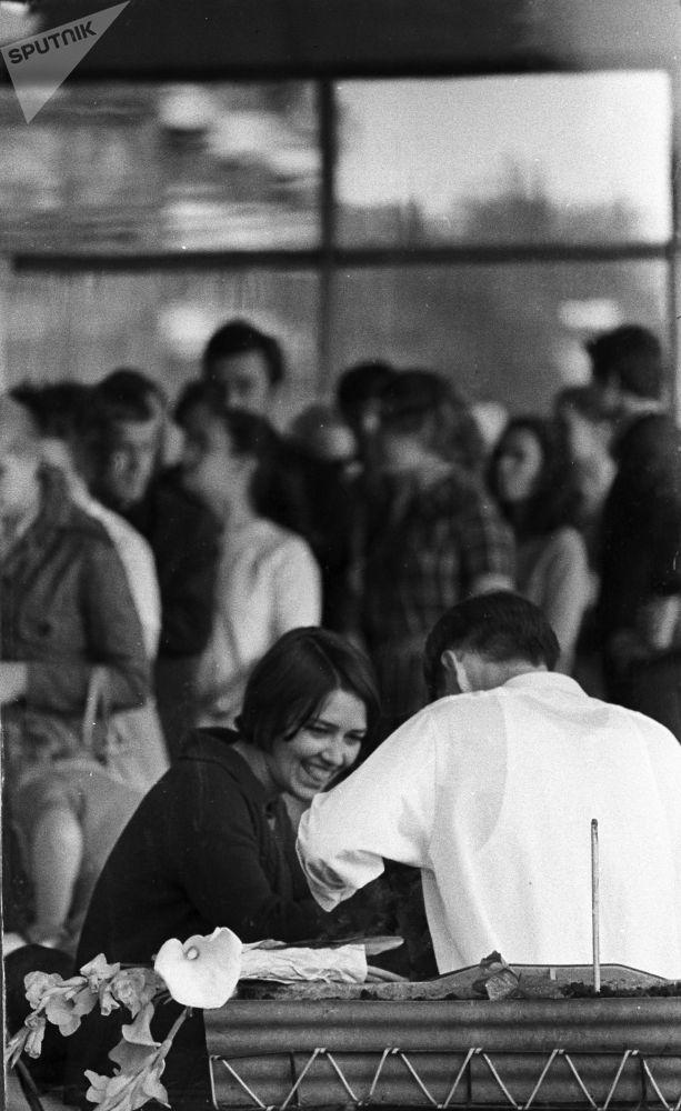 Młoda para w Jekaterynburgu