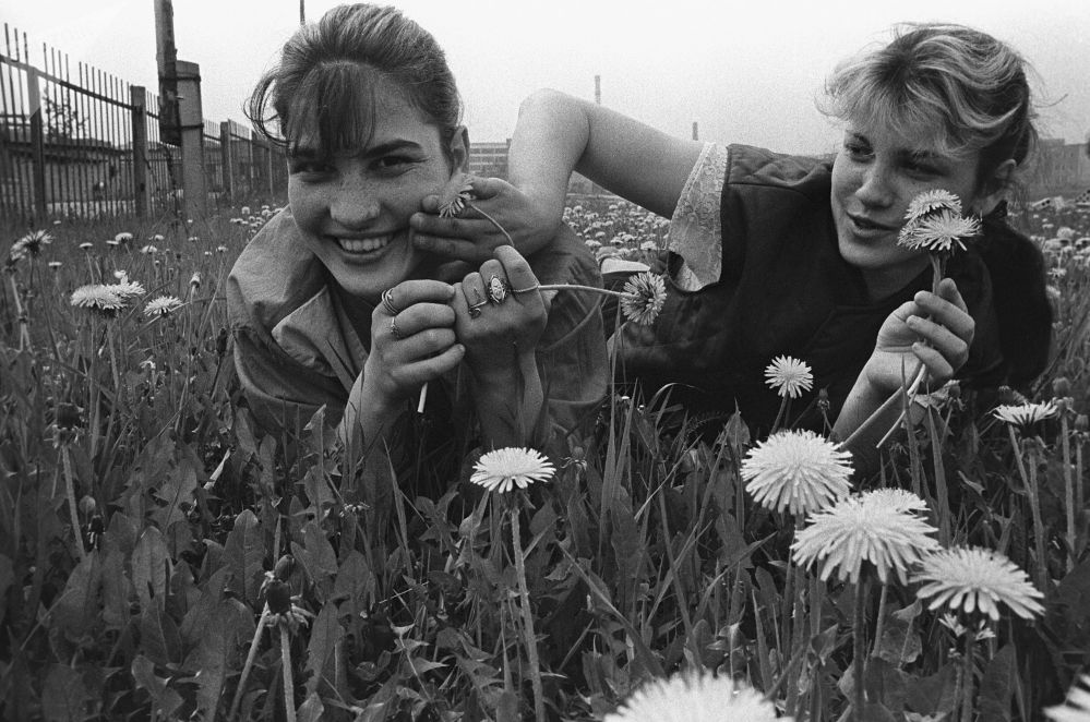 Wychowanki klubu dżudo z Witebska Ludmiła i Galina Kalinowe