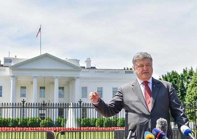 Petro Poroszenko w USA