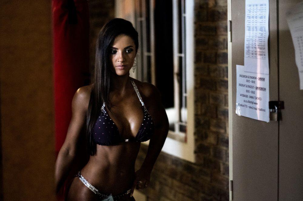Piękne kobiety podczas zawodów Miss SA Xtreme