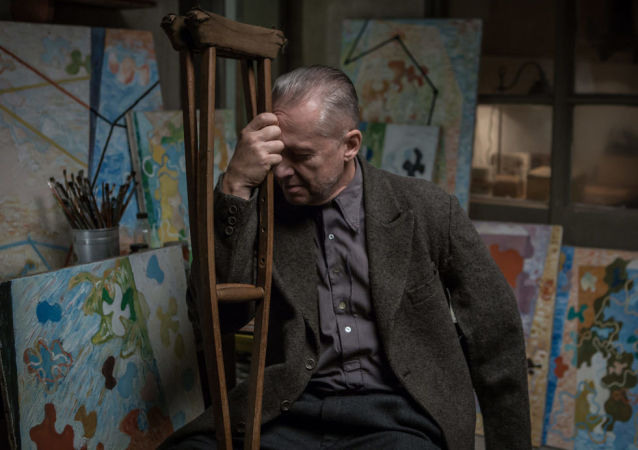 Kadr z filmu Andrzeja Wajdy Powidoki