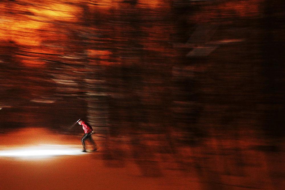 Maria Plotnikowa, Rosja, Nocny narciarz