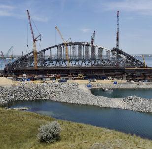 Budowa Mostu Krymskiego na Krymie