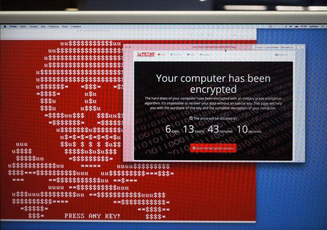 Wirus typu ransomware Petya
