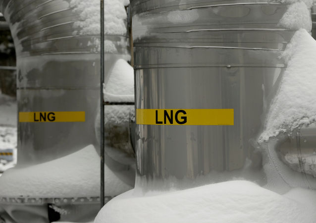 Terminal skroplonego gazu ziemnego w USA
