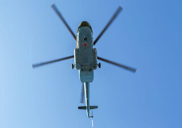 Rosyjski śmigłowiec Mi-8MT