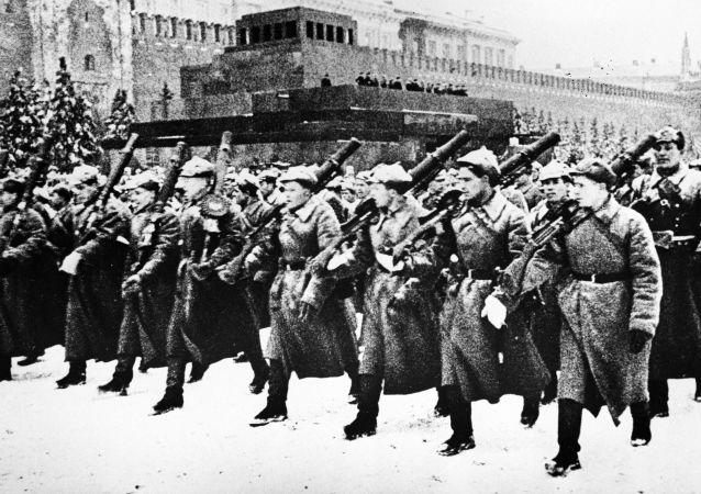 Parada Zwycięstwa na Placu Czerwonym, 1941 rok