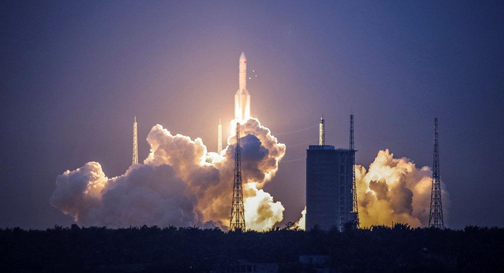 Nieudany start chińskiej rakiety nośnej Chang Zheng 5