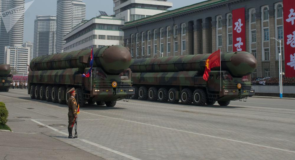 Wyrzutnie międzykontynentalnych pocisków balistycznych Koreańskiej Armii Ludowej