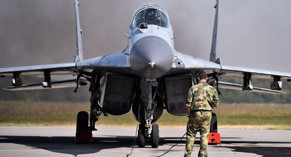 Myśliwiec MiG-29 serbskich Sił Powietrznych