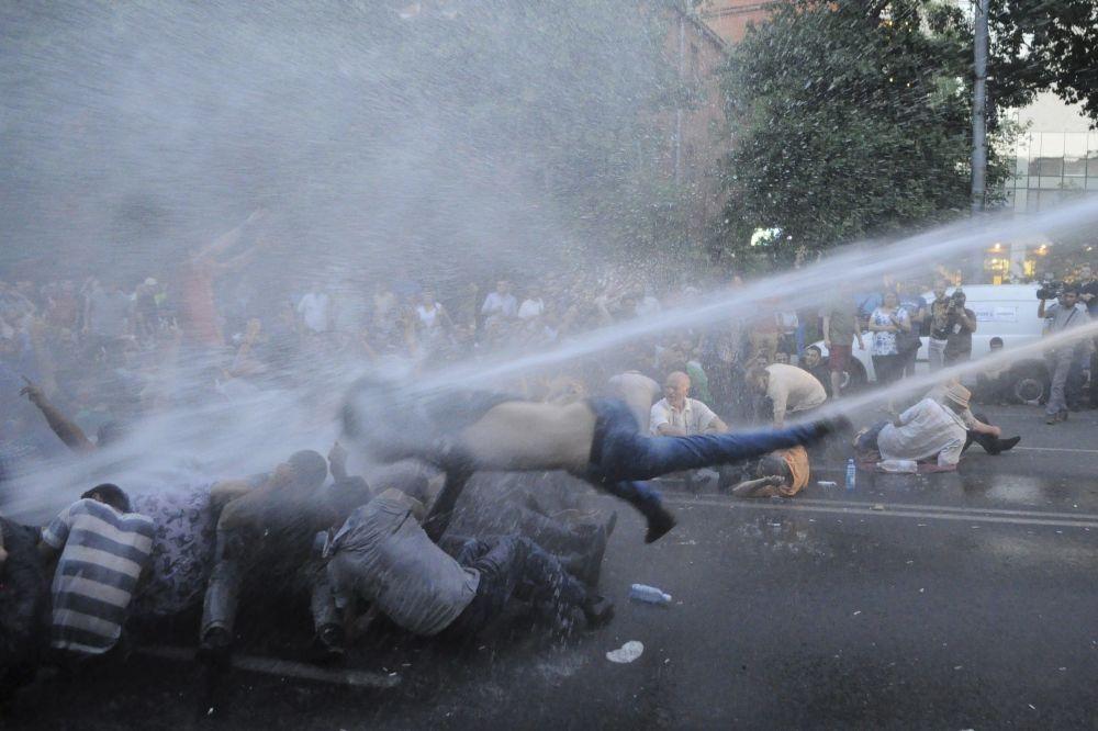 Akcja protestacyjna w Erywaniu