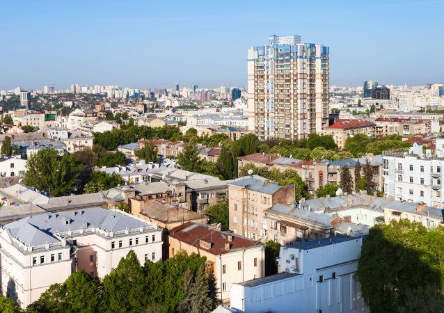 Widok Kijowa